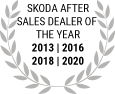 Skoda After Sales Dealer of the Year